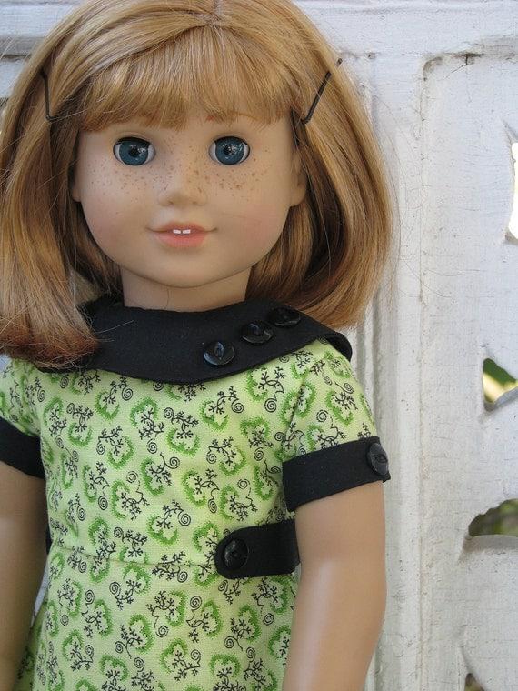 american girl doll dress: spring forward