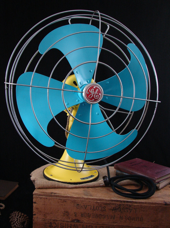 Retro Electric Fans : Vintage electric fan general old