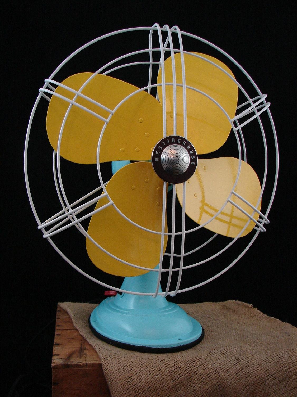 Retro Electric Fans : Vintage westinghouse electric fan