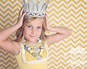 M2M Yellow and Gray Persnickety Spring and Summer Line 2012 is an adorable Necklace...