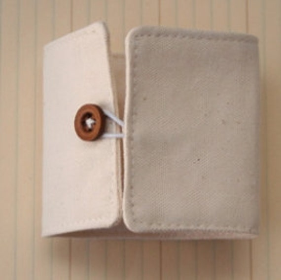Canvas Cuff w/ Button (Alterable)  PRICE REDUCED - 7x2.5 inches - Maya Road - CN2084