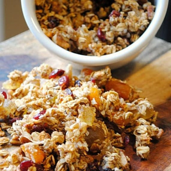 Organic Honey Roasted Granola