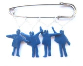 The Beatles Bag Charm Pin Brooch