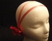 Art Deco Pink Grecian Flower Headband