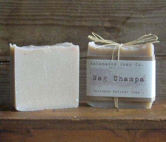 Nag Champa- Handmade Natural Cold Process Soap (Vegan)