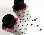 "Baby Booties ""Blueberry Ice cream"""