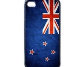 iPhone 4 case, iPhone 4s case, iPhone 4 cover, iPhone 4s cover, New Zealand Flag case for Iphone 4