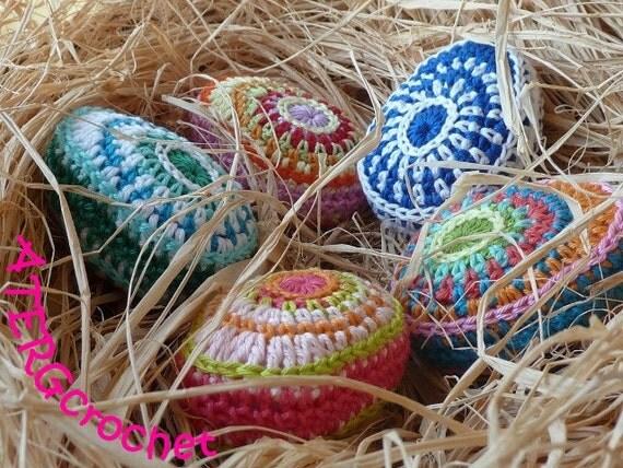 Crochet Easter Eggs : Crochet pattern Easter egg II by ATERGcrochet