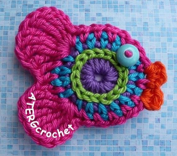 Fish magnet pink