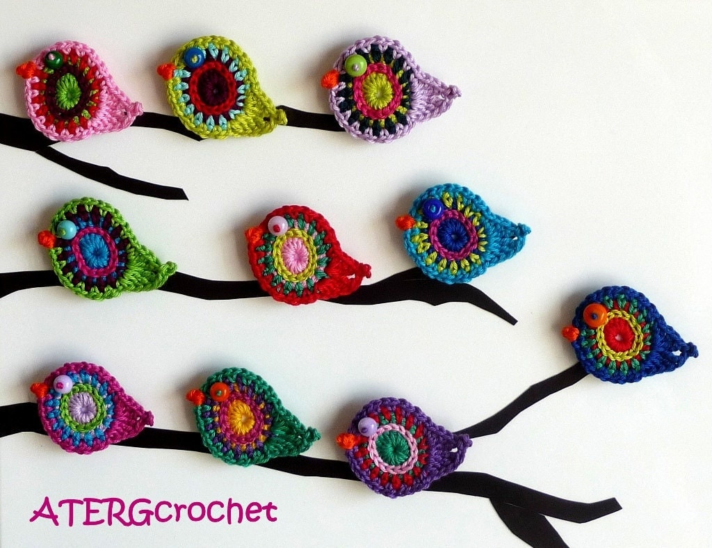 Bird crochet pattern by ATERG.crochet