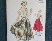 Advance 5509 Vintage Dress Sewing Pattern 1950s - SIZE 16