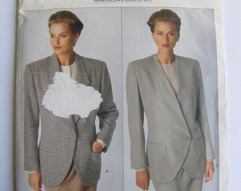 Uncut Vogue 2393 Sewing Pattern - Calvin Klein - Size 12 - 16