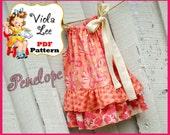Penelope...Pillowcase Dress Pattern.Toddler Dress Sewing Pattern. Girl's Dress Pattern. pdf Sewing Pattern, Girl's Sewing Pattern.