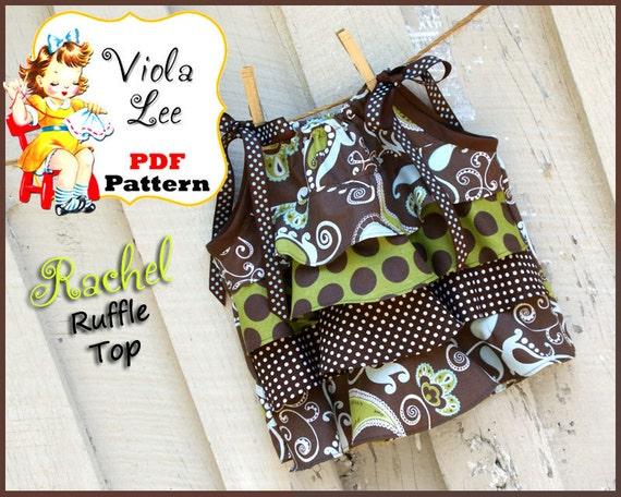 Girl's Sewing Pattern. Pillowcase Dress sewing pattern. Girl's Top Pattern, Toddler Sewing Pattern pdf. Toddler Top. Download. Rachel