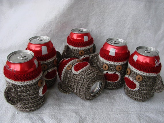 monkey beer cozies