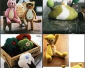 Needle and Hand Felting Various Goods PDF Patterns, Chinese Ebook, Kawaii Ebook, Free Shipping No.21