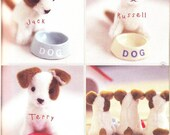 Puppy Patterns, English Pattern, Sew Dog Pattern, Little Dog, Free Shipping No.23