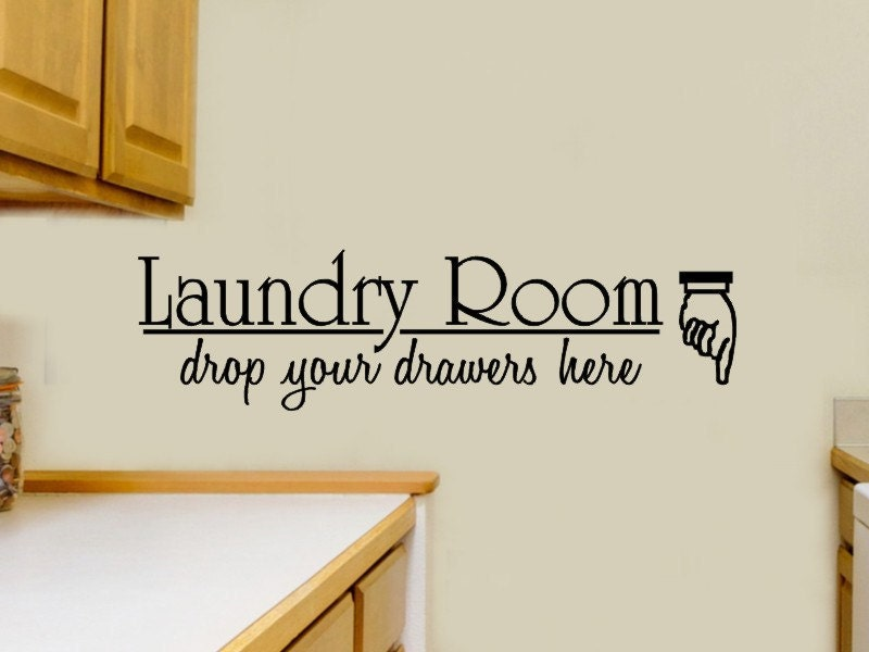 Https Etsy Com Listing 79712435 Laundry Room Wall Decal Laundry Room