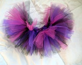 "Pink, Purple & Black Tutu - The ""Evie"" Tutu"