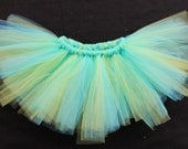 "Green & Aqua Tutu - The ""Grace"" Tutu"