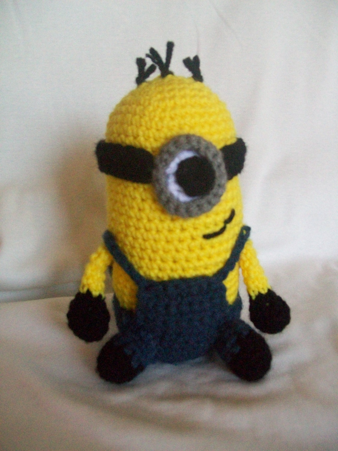 Amigurumi Minion Etsy : Minion Amigurumi by WhisperSweetJoy on Etsy