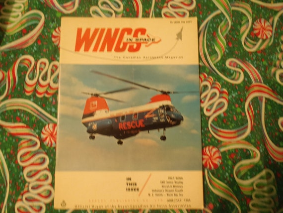 Wings in Space  The Canadian Aerospace Magazine June/July 1964