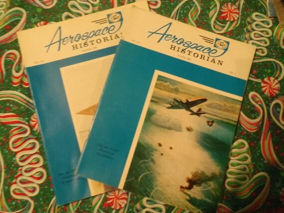 Aerospace Historian, Summer and Winter, 1966 Vols. XIII Nos. 2 & 4