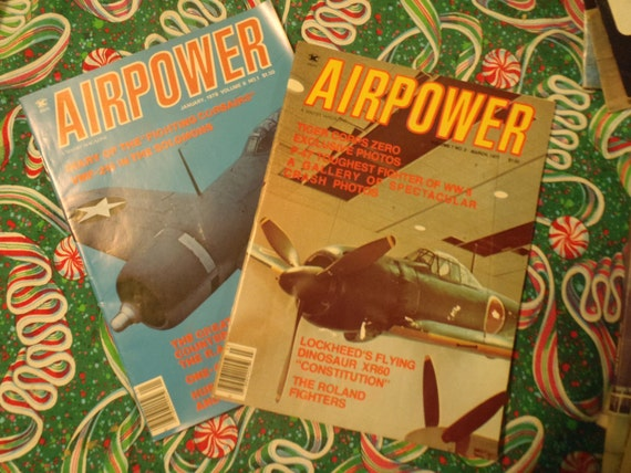 AirPower Magazines January 1978 Vol 8, No. 1 and March 1977 Vol 7 No. 2