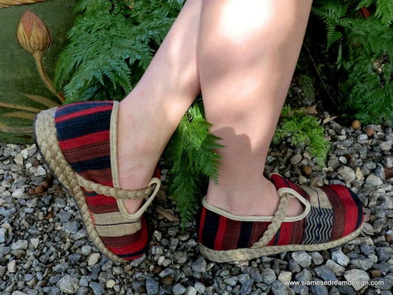 The Casey Lodge Loafer, Naga Woven Cotton Earthy Vegan Shoes - Casey