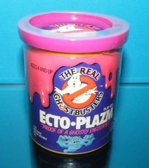 Ghostbusters Ecto Plazm Slime Recipe 1987 Kenner toys Make your own Plus 100 more kids recipes