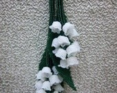 Lily of the Valley Lariat Necklace