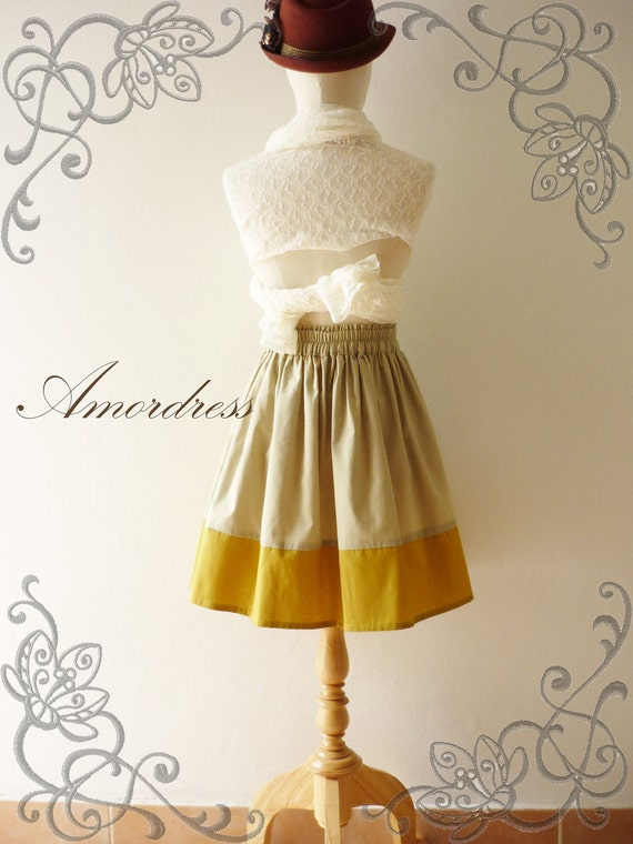 NEW for This wonderful Spring--Im a Princess SKIRT- Rainbow Ice Cream- Vintage Retro Style Handmade Cotton Skirt Mix and Match