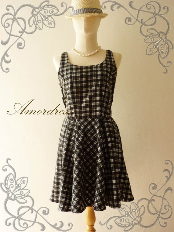 SALE TODAY Amor Vintage Inspired 1950's Inspired Flare Skirt Retro Classy Dress -Fit XS-S -