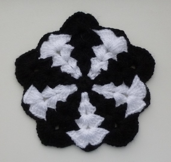 Instant Download Crochet PDF pattern - Thick Pentagon