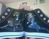 Legend of Zelda Converse (Hand-Painted)