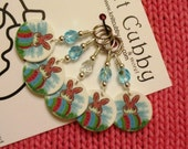 Hippity Hop Easter Bunny NON SNAG Stitch Markers