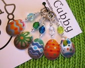 Easter Egg Hunt NON SNAG Stitch Markers