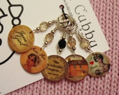 Jane Austen Pride and Prejudice Regency Period NON SNAG Stitch Markers