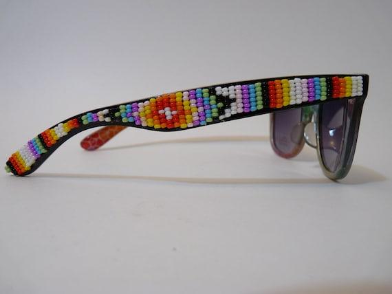 Native American beaded sunglasses
