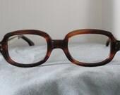 SRO Tortoise Shell Eyeglass Frames 37mm 28mm New Old Stock Eyewear