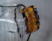 Ruffle Headband Slip-cover