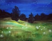 "Original Watercolor Painting (9"" x 12""): ""Natural Light"""