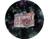 Space Cameras: The Majestic Galactic Camera Art Print