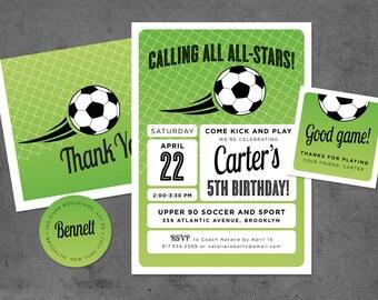 Soccer All-Star Birthday Invitation (15)