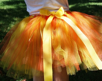 Yellow Tutu for Girls, Toddlers and Adults 'Little Miss Sunshine Tutu' Summer with coordinating headband