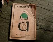 South African Schoolbook- Vintage Paper Ephemera