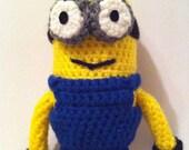Despicable Me Minion - Handmade Crochet Amigurumi Toy
