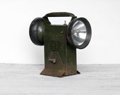 Vintage Double Light Flashlight