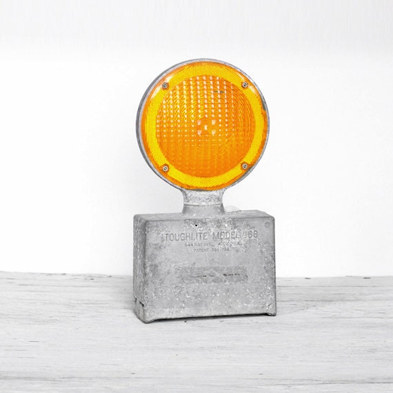 RESERVED - Industrial Fog Light with Yellow Lens