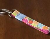 Fabric Key Fob - Floral